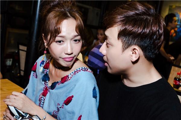 Diệu Nhi có mối quan hệ rất thân thiết với Trấn Thành.
