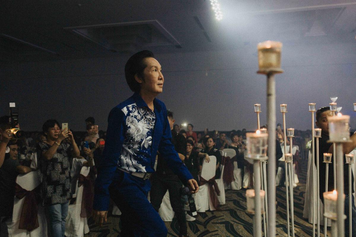 Nghệ sĩ cải lương đình đám Vũ Linh tái ngộ Thoại Mỹ trong đám cưới cháu gái - Ảnh 2