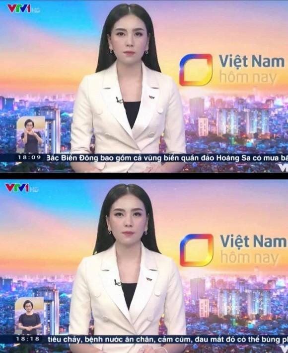 Đang dẫn chương trình thời sự, MC Mai Ngọc bị đau bụng quằn quại - Ảnh 2
