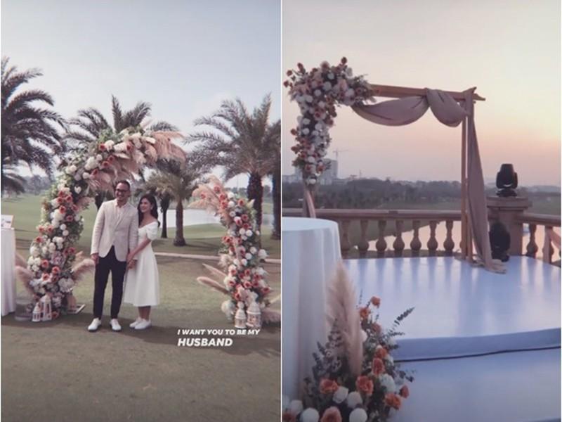 Lộ ảnh hiếm về lễ cưới MC Thu Hoài: Độc - xịn - lạ không giống ai - Ảnh 2