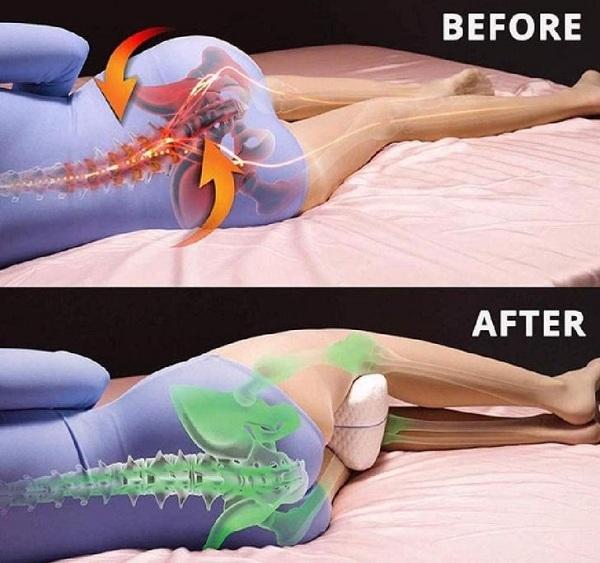 Tại sao nên kẹp một chiếc gối vào giữa hai chân khi ngủ? - Ảnh 4