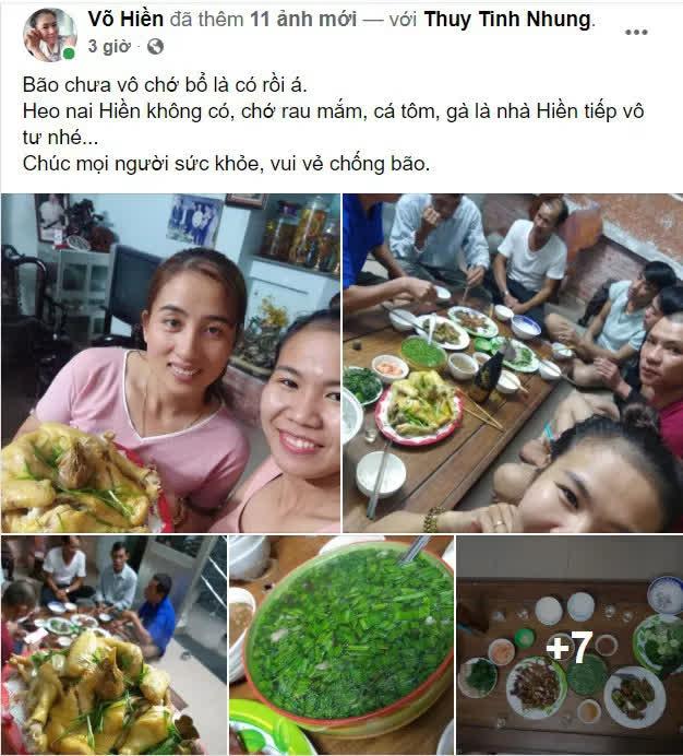 Quảng Nam: Người phụ nữ cho gần 20 bà con trú ẩn trước cơn bão số 9, còn chiêu đãi ăn uống thịnh soạn khiến ai cũng ấm lòng - Ảnh 1