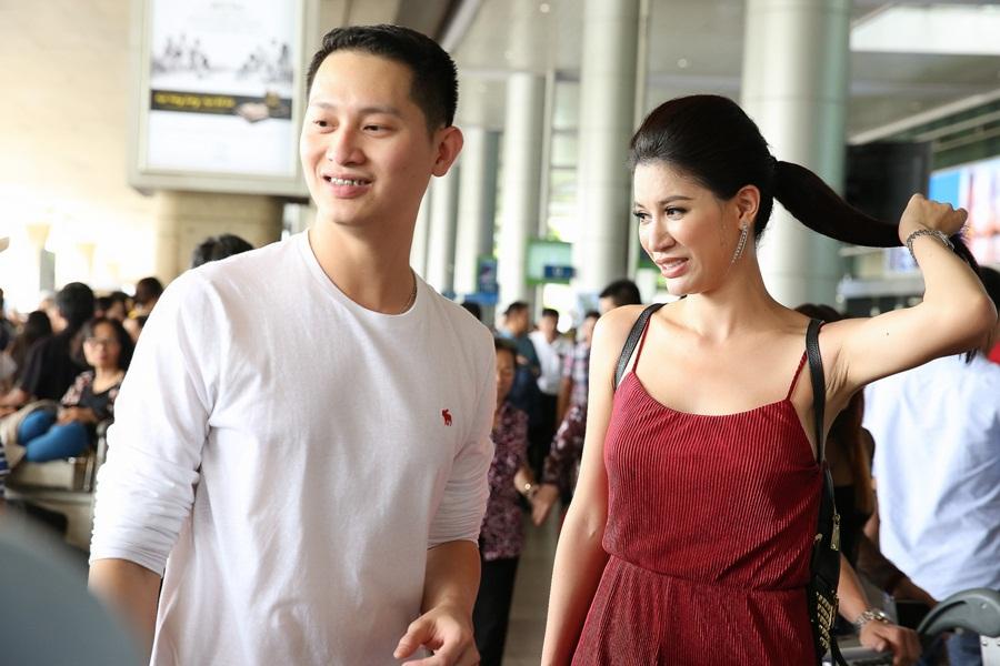 Hot nhất: Chồng người mẫu Trang Trần lộ diện, từ Mỹ về chụp ảnh cưới - Ảnh 7
