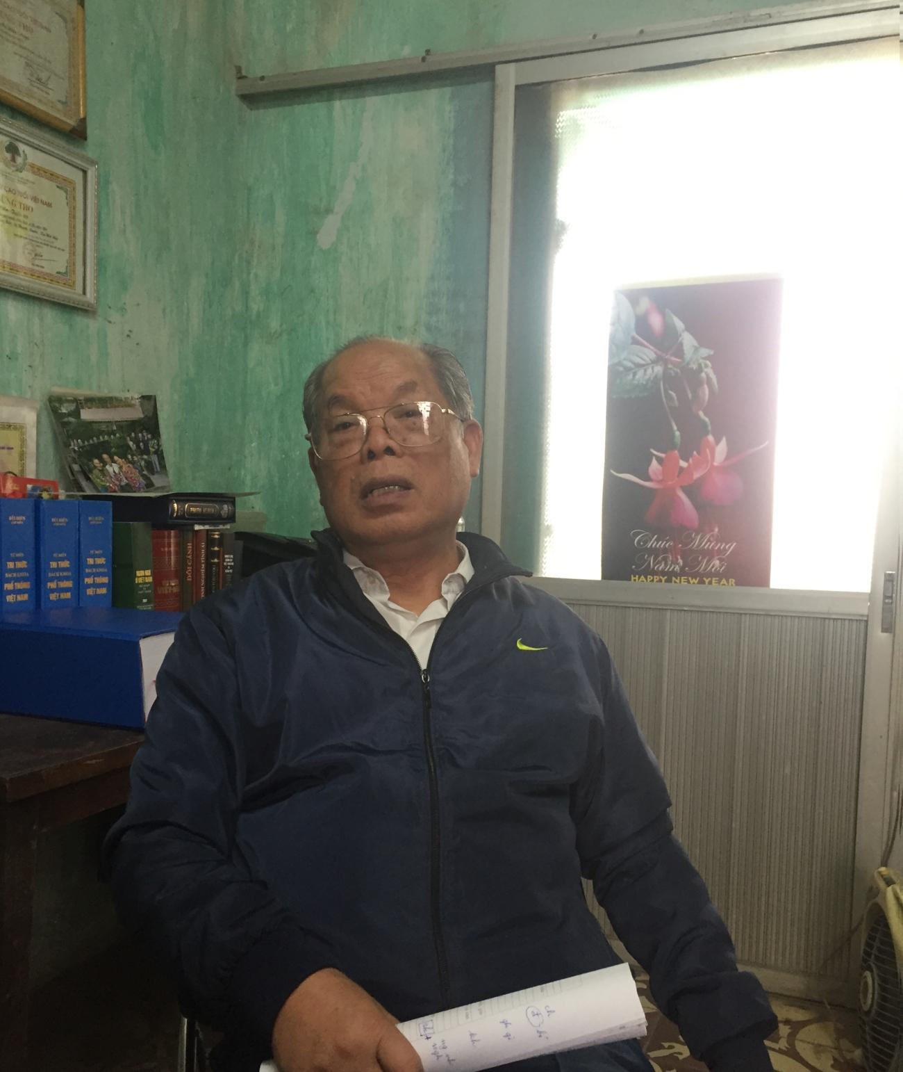 PGS. TS Bùi Hiền: 'Họ chửi tôi điên, nhưng lại học chữ của tôi để chế nhạo tôi rất nhanh' - Ảnh 5