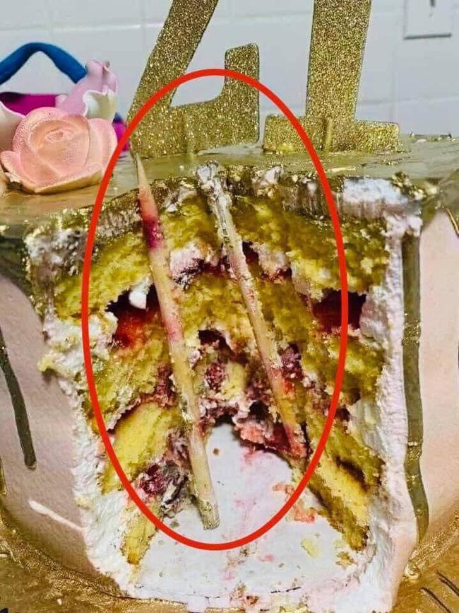 Bức ảnh khiến nhiều người giật mình sợ hãi nghĩ lại trò úp bánh kem vào mặt, mối nguy hiểm quả thật rất khôn lường - Ảnh 2