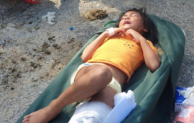 Hình ảnh những nạn nhân được cứu trong vụ sạt lở núi kinh hoàng ở Quảng Nam - Ảnh 3