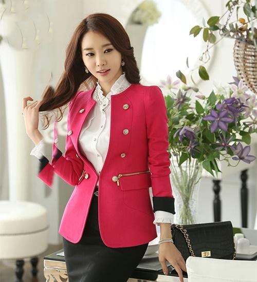 Kiểu kết hợp quần áo đẹp ngày Tết đơn giản từ sơ mi và vest