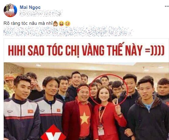 Không thể giữ im lặng khi bị Đức Chinh công khai túm tóc, MC Mai Ngọc chính thức lên tiếng - Ảnh 2