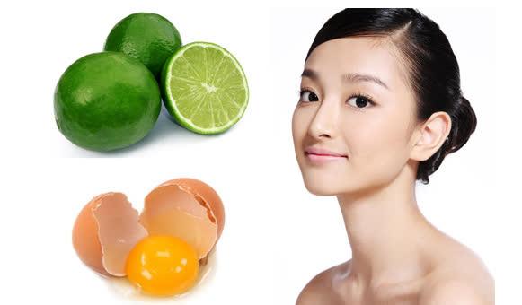 Mặt nạ dưỡng da ngày Tết từ trứng gà và chanh đơn giản