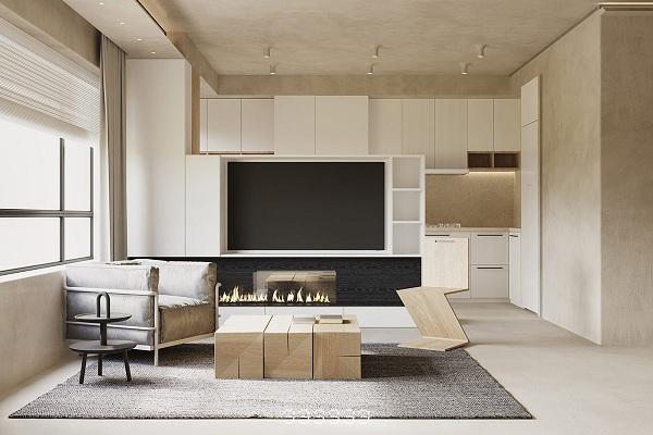 Mê mẩn với căn hộ được trang trí bằng gỗ - Ảnh 2
