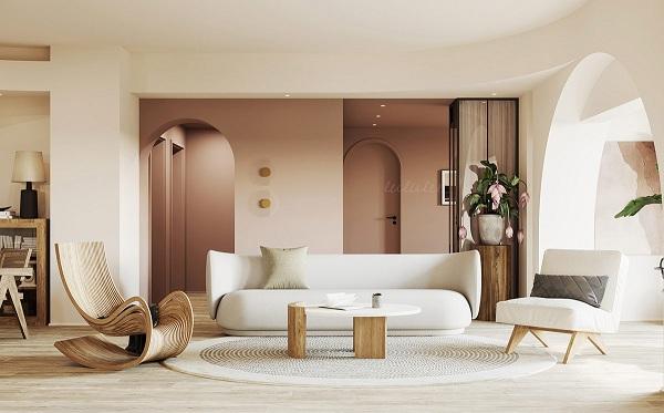 Mê mẩn với căn hộ được trang trí bằng gỗ - Ảnh 6