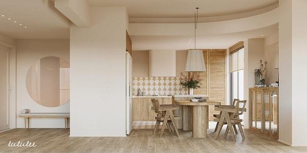 Mê mẩn với căn hộ được trang trí bằng gỗ - Ảnh 8