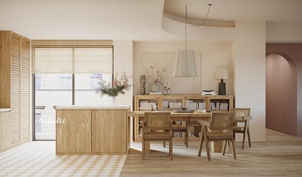 Mê mẩn với căn hộ được trang trí bằng gỗ - Ảnh 9