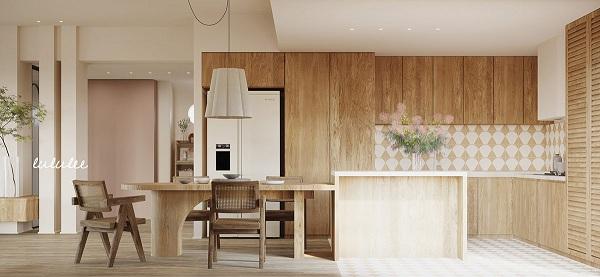 Mê mẩn với căn hộ được trang trí bằng gỗ - Ảnh 10