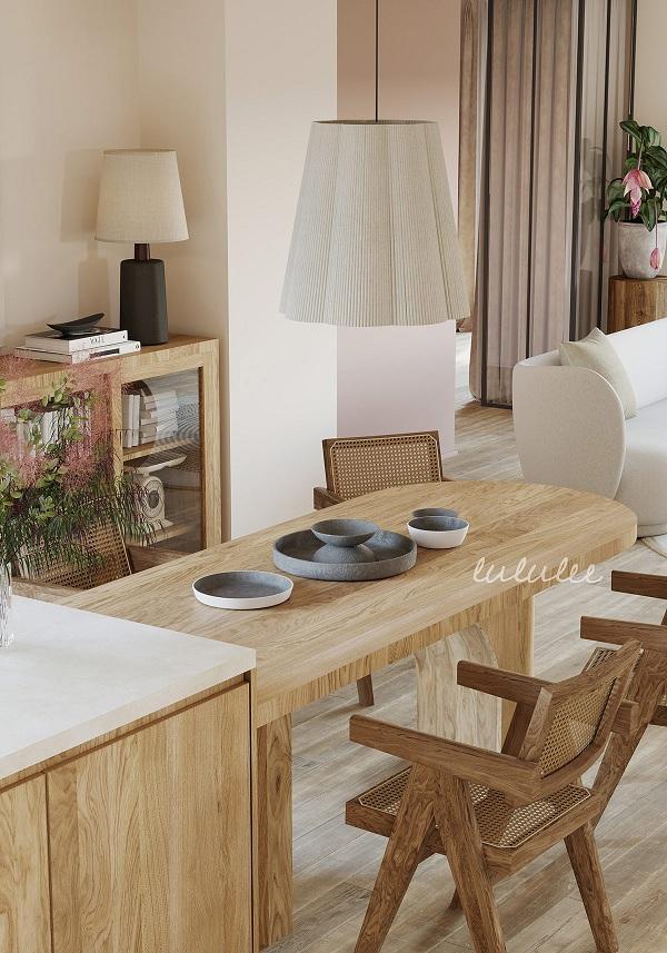 Mê mẩn với căn hộ được trang trí bằng gỗ - Ảnh 11