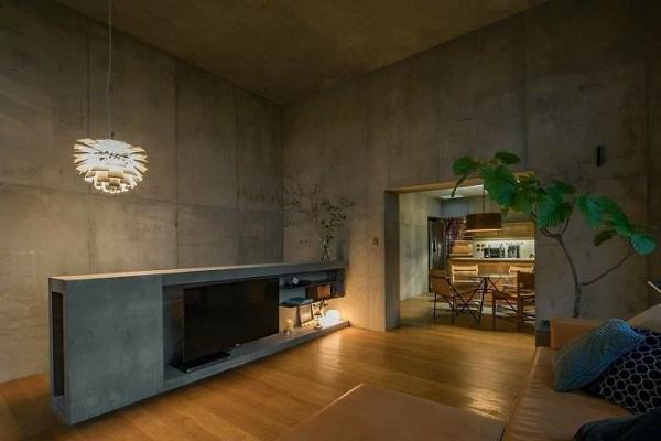 Bất ngờ nội thất tối giản, tinh tế trong căn hộ bê tông - Ảnh 7