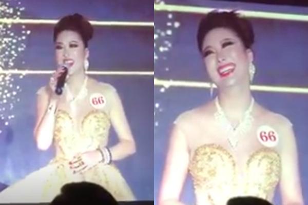 Phần thi ứng xử gây cười giúp Phi Thanh Vân đăng quang Hoa hậu - Ảnh 3