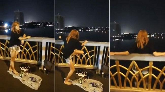 Thiếu nữ nhờ tài xế xe ôm livestream cảnh nhảy cầu tự tử giữa đêm - Ảnh 1