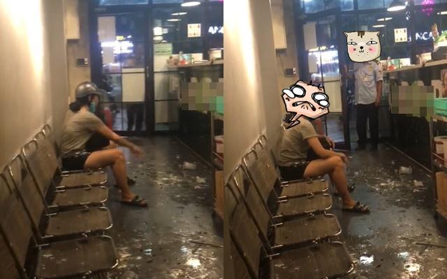 Câu chuyện phẫn nộ nhất tối cuối tuần: Cô gái hung hăng đập ly trà sữa, bắn tung tóe khắp cửa hàng chỉ vì không đúng vị ngọt yêu cầu - Ảnh 1