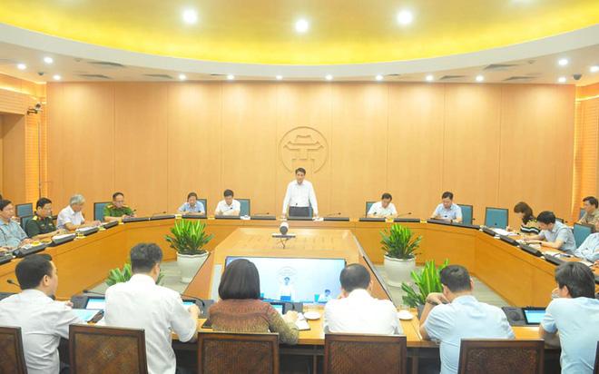 Chủ tịch Nguyễn Đức Chung: 15-20/8 là các ngày cao điểm, có thể phát hiện ca mắc Covid-19 mới ở Hà Nội - Ảnh 1