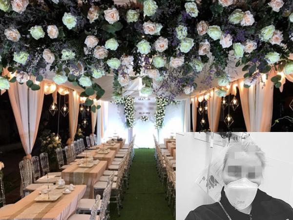 Bất chấp dịch Covid-19, cặp đôi vẫn tổ chức đám cưới đình đám khiến 31 người nhiễm bệnh