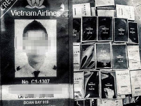 Bắt giữ cơ trưởng Vietnam Airlines buôn lậu tại sân bay