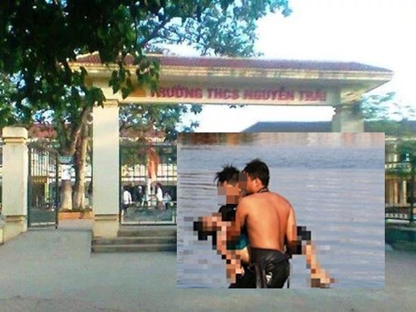 Thương tâm: Bé gái 4 tuổi chết đuối vì rơi xuống bể bơi trường học ở Nghệ An