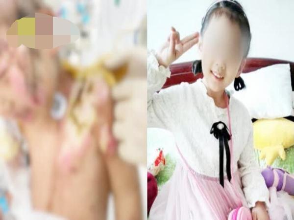Bé gái 6 tuổi bị mẹ và người tình bạo hành tàn nhẫn, nhìn thương tích ai nấy đều rơi nước mắt