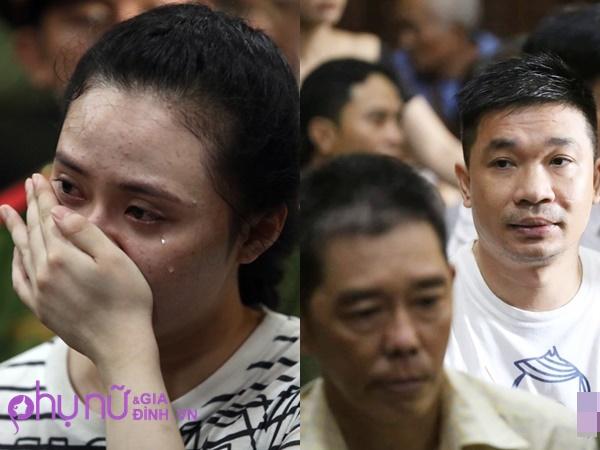 Hot girl Ngọc Miu khóc nấc khi nghe VKS đề nghị mức án 20 năm tù giam, người tình bị tử hình
