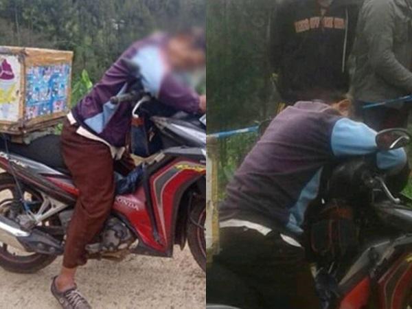 Bức ảnh khiến hàng triệu người rơi nước mắt: Ông bố U70 gục chết trên xe sau một ngày tần tảo bán kem dạo