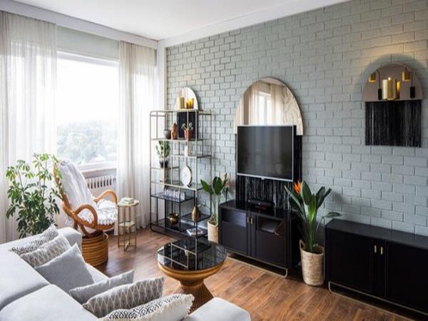 Căn hộ có nội thất đơn giản nhưng sang trọng nhờ gu thẩm mỹ tinh tế