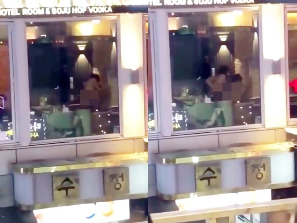 Clip cặp đôi mải miết 'mây mưa' quên kéo rèm cửa khiến hàng trăm người nóng mắt