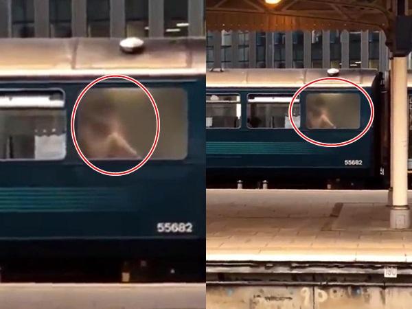 Sốc: Cặp đôi 'mây mưa' kịch liệt trong nhà vệ sinh tàu hỏa bị hàng trăm người đứng xem