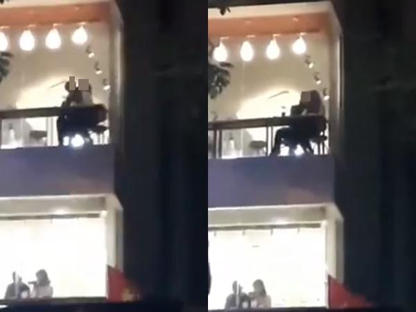 Cặp đôi 'yêu' cuồng nhiệt trong quán trà sữa bất chấp hàng trăm con mắt theo dõi