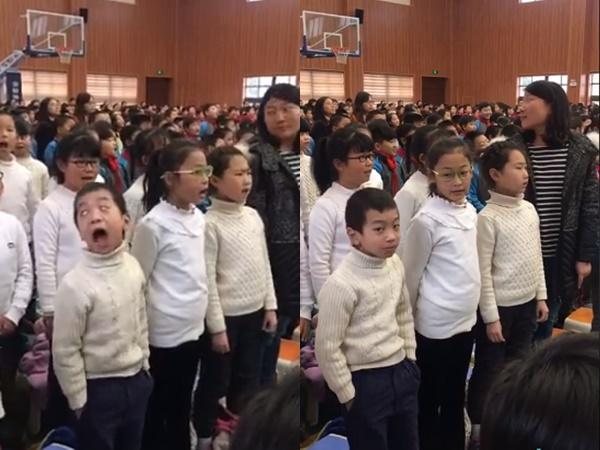 Cậu bé 'diễn sâu', đặt trọn tâm trí vào bài hát khiến dân mạng cười ngả nghiêng