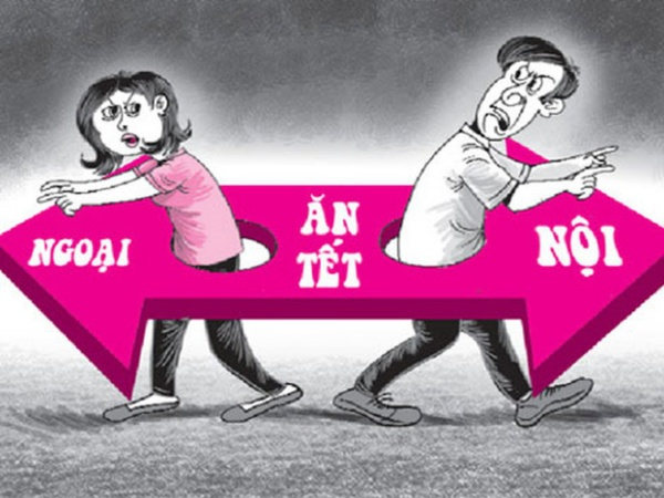 Chồng không cho vợ về nhà ngoại ăn Tết 2020 có thể bị phạt tiền, thậm chí là ngồi tù