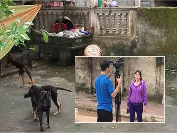 Chủ đàn chó cắn bé trai 7 tuổi tử vong lao ra khỏi nhà uy hiếp, chửi bới phóng viên