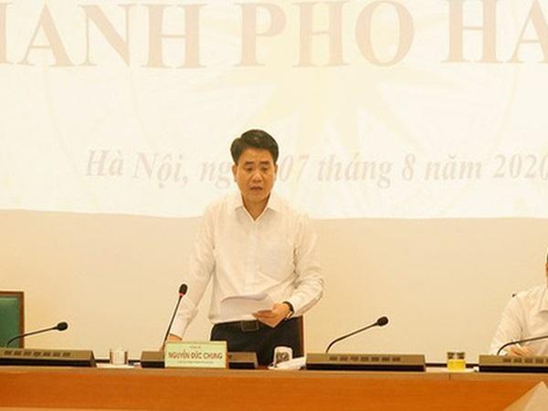 Chủ tịch Nguyễn Đức Chung: Từ hôm nay, Hà Nội sẽ xử phạt người không đeo khẩu trang