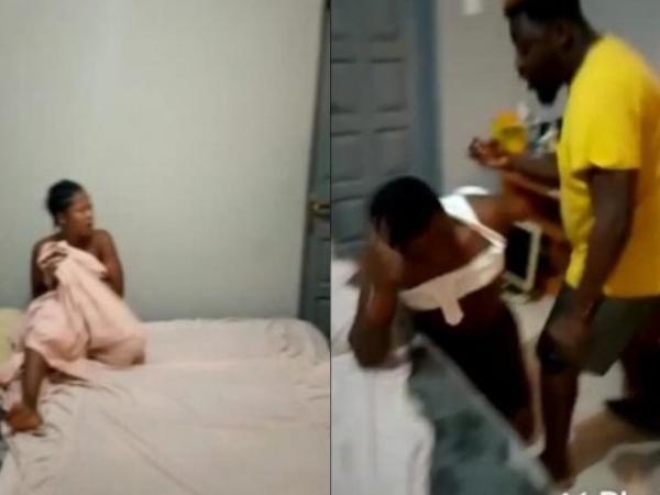 Clip: Chồng phát hiện vợ 'nhún nhảy' với người đàn ông khác trên giường, danh tính kẻ thứ 3 khiến người chồng 'chết đứng'