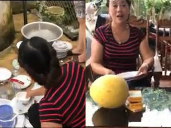 Clip mẹ chồng bắt con trai rửa chén giúp vợ: 'Đàn ông phải biết giúp vợ, giúp con' được chị em chia sẻ kịch liệt
