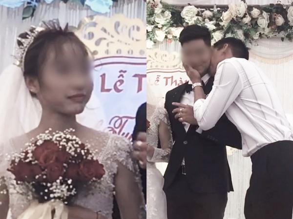 """Cô dâu """"số nhọ"""": Chưa kịp vui vì có bạn lên mừng cưới đã đứng tim khi thấy nam thanh niên ôm chú rể hôn thắm thiết!"""