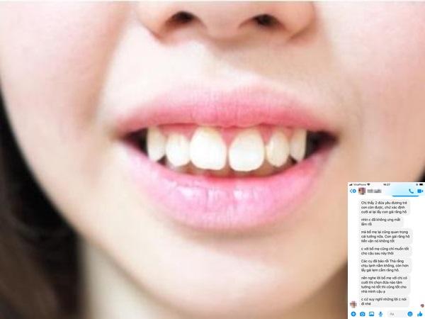 Cô gái bị gia đình người yêu ngăn cản vì răng hô, đọc tin nhắn của nhà trai, dân mạng cũng uất ức thay