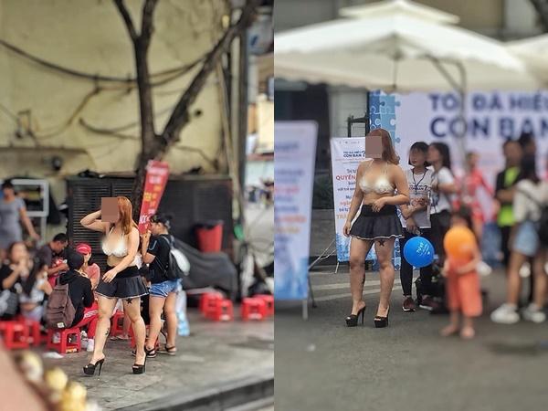 Cô gái mặc áo lót cùng váy ngắn ra đường bị cư dân mạng 'ném đá': 'Chắc không còn biết mắc cỡ là gì'
