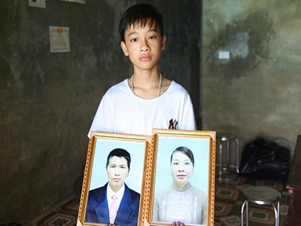 Con trai cặp vợ chồng chết cháy gần Viện Nhi hứa thay bố mẹ chăm em