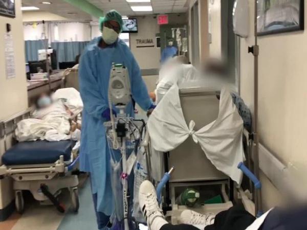 """Covid-19 tại Mỹ: Số ca nhiễm cao gấp đôi Trung Quốc, hơn 3000 người tử vong, y bác sĩ hỗn loạn khẩn thiết kêu gọi người dân """"ở yên tại chỗ"""""""