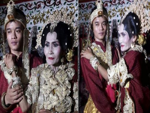 Đám cưới gây choáng của chàng trai 20 và cụ bà 65 tuổi: Tình yêu thật sự hay kẻ đào mỏ chuyên nghiệp?