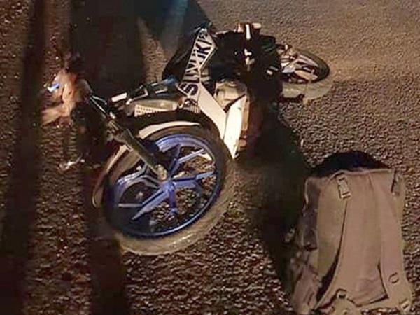 Gặp tai nạn thương tâm trên đường về quê, em chết, anh sinh đôi nhập viện cấp cứu trong tình trạng nguy kịch