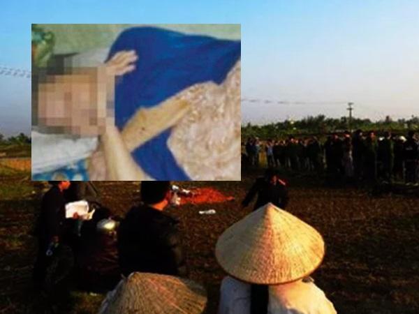 Cụ bà 64 tuổi nghi bị hai thanh niên đánh gãy răng, hiếp dâm tập thể ngoài ruộng