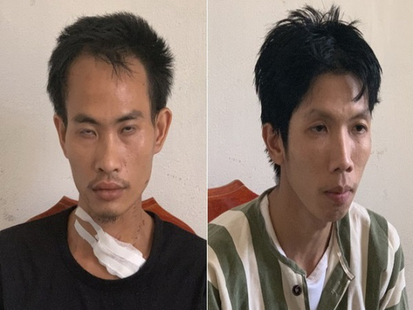 """Hai thanh niên vác dao, """"hợp sức"""" giết người sau sự cố nhìn lầm, gọi lại nói chuyện"""