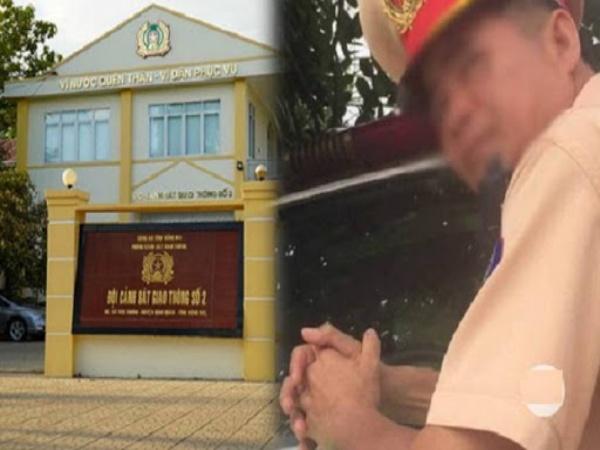 Hai trung tá CSGT Đồng Nai 'bảo kê' xe quá tải được điều động làm công việc khác